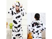 Cow Dress-Up Costume Onesie Pyjamas Kigurumi DR2 NEW