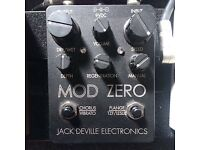 Jack DeVille Mod Zero (Analogue Flanger / Chorus - USA 250 made)