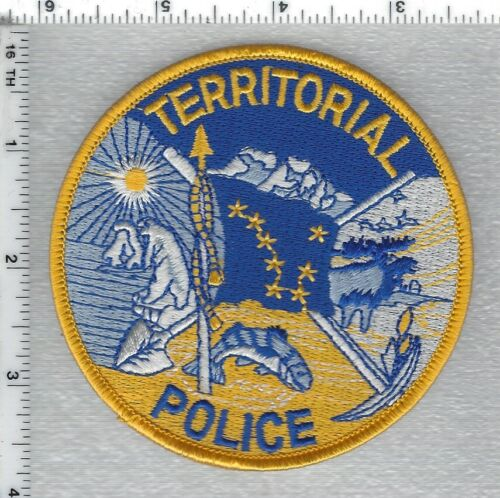 Alaska Territorial Police 1st Issue Shoulder Patch