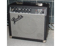Fender 15 watts practice amplifier for electric guitar. READVERTISED DUE TO TIMEWASTERS