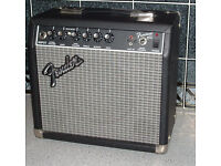 Fender practice amp for electric guitar