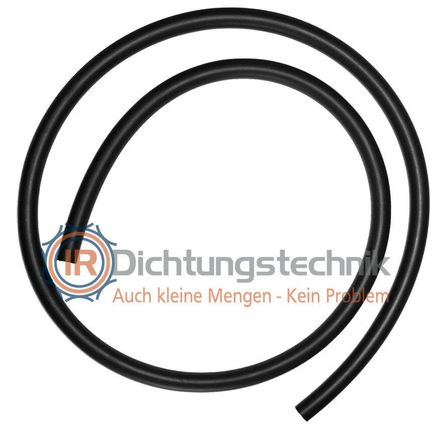 O-Ring Nullring Rundring 23,5 x 2,4 mm NBR 70 Shore A schwarz 25 St.