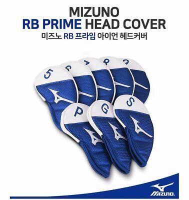 New Mizuno 8PCS Golf Iron RB Prime Leather Headcovers, Club Protection