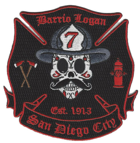San Diego City Station 7 Barrio Logan NEW Fire Patch