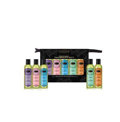 Kama Sutra Intimate Gift Set Sensual Massage Oil Tranquility Kit - 5 Pack - 2 - Sensual Massage Kit