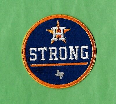 Houston Strong Hurricane World Series Champs 3   Iron On Patch Free Shipping