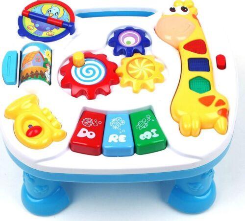 Lerntisch Spieltisch Spielzeug Motorik Musik Activity Center zenter Piano Baby