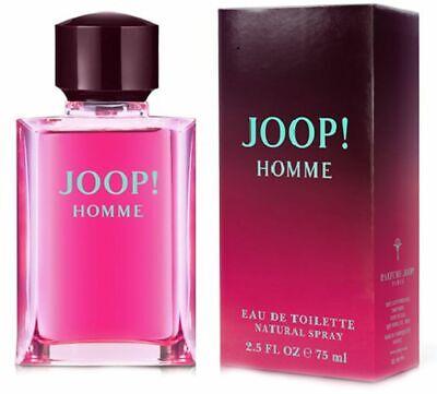 JOOP! HOMME 75ML EAU DE TOILETTE SPRAY BRAND NEW & BOXED