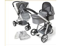Tectake 3 in 1 stroller brand new pushchair buggy