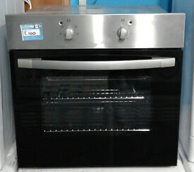 J709 stainless steel & black cda single electric oven comes with warranty can be delivered