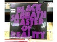 Brand new n sealed Black Sabbath – Master Of Reality, reissued on 180 gram vinyl, Heavy Rock