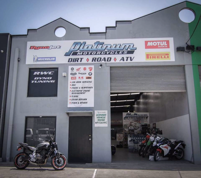 Melbourne motorcycle workshop - Platinum motorcycles