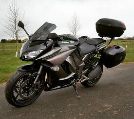 Kawasaki Z1000SX - 2013 - MOT & Tax - Full Touring Package - Datatool Immobiliser - Price Reduced