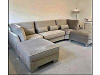 Brand new U shape Sofa available in All colours 💯