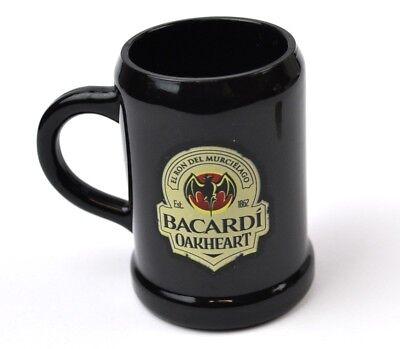 Bacardi Oakheart Rum USA Krug Style Stamper Stamperl Schnapsglas Shot Glass