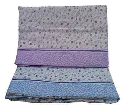 Set Bed Sheets Flannel measures MAXI 1 square and half. CANADA, Design 3