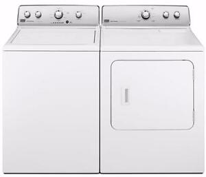 White Washer-Dryer Combo, GAS, Maytag
