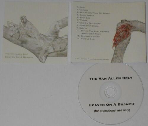 The Van Allen Belt  Heaven On a Branch  2014 U.S. promo cd