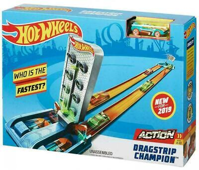 Hot Wheels Action Dragstrip Champion Set