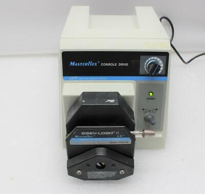 Cole Parmer Masterflex Peristaltic Pump Console Drive 7520-40