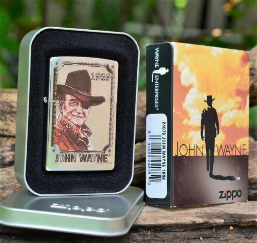 Zippo Lighter - John Wayne Collection - 1969 - Rooster Cogburn - True Grit 24075