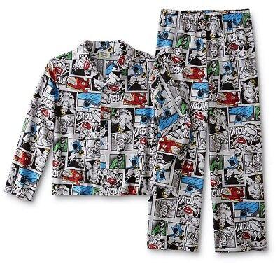 Cheap Kids Christmas Pajamas (Superhero Pajamas Boys Size 4-8-10 Batman/Superman/Flash Comic Book Flannel)