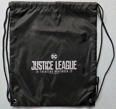 JUSTICE LEAGUE movie promo drawstring BACKPACK DCEU DC Comics Superman Batman
