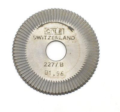 Cole Switzerland 01.96 Key Machine Cutter Wheel 2277.b