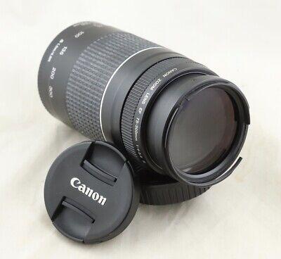 READ! Filter ring broke Canon EF 75-300mm III lens for EOS 5D 6D 7D 70D 80D T7i