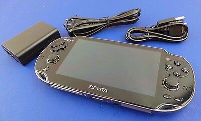 Used Sony Playstation Ps Vita 3G Pch 1101 Handheld System Console  78Sa6