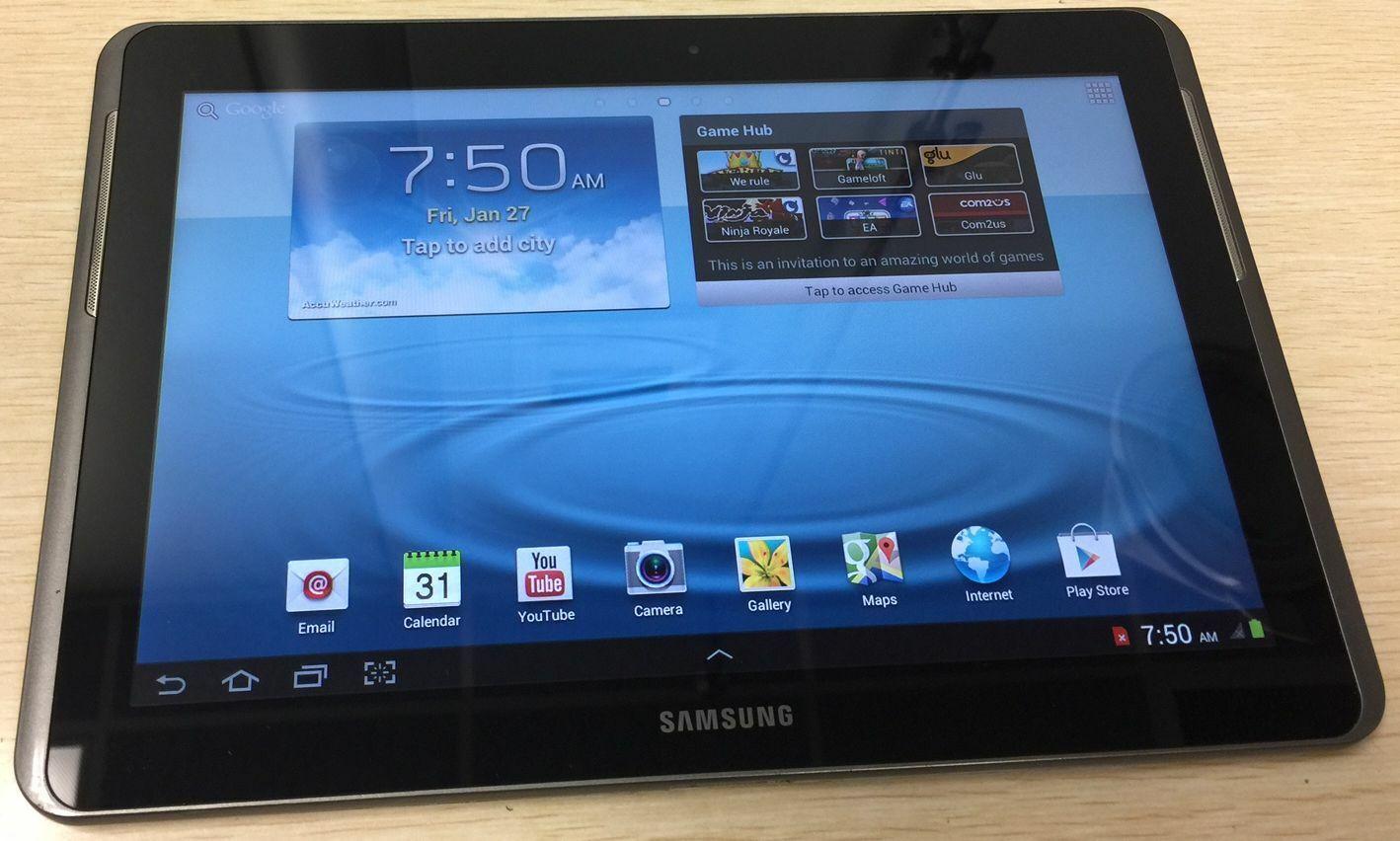 Samsung Galaxy Tab 2 SCH-I915 8GB,Verizon, Wi-Fi 10.1in - Gray