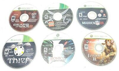 Used, Xbox 360 Games Lot of 6 for sale  Shipping to India