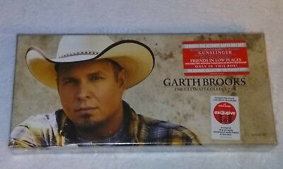 BRAND NEW Garth Brooks The Ultimate Collection 10 CD Box Set-Gunslinger