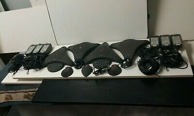 Polycom Soundstation Premier Lot From Working System