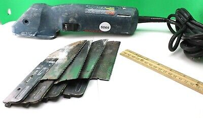 Bosch 1640VS FineCut Power Handsaw Tested Works Well  (4) Blades Good Condition
