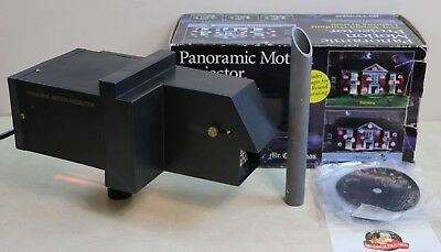 Mr Christmas Panoramic Motion Projector Halloween Holidays All Year Round TESTED ()