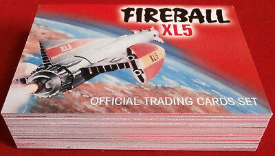 FIREBALL XL5 - Complete Base Set (54 cards) - Gerry Anderson Collection 2017