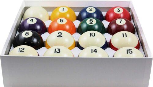 """Aramith Crown Standard Pool Ball Set 2 1/4"""""""