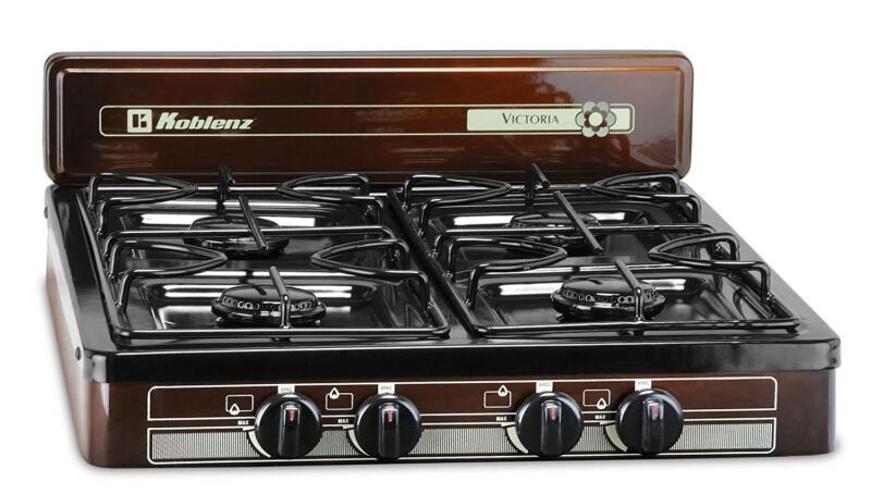 Burner Stove Top Outdoor Cooking Propane Gas Portable Black,