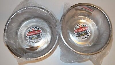 - Lot Of 2 Ethical Products Stainless Steel Mirror Pet Dish 2 Quart
