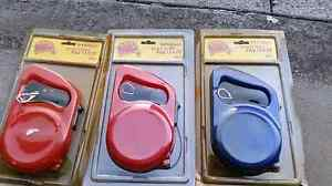 3 Retractable dog leashes 5m Wilson Canning Area Preview