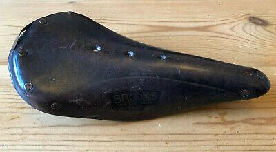 Brooks B17 Narrow Imperial schwarz Renn Ledersattel NEU