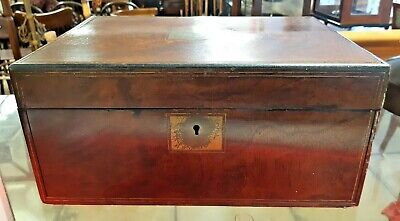 Victorian Rosewood Writing Slope for Restoration or Jewellery Box