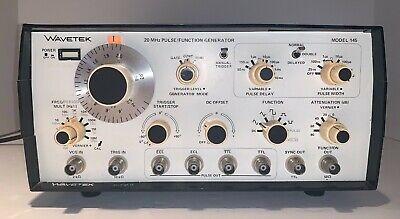 Wavetek Model 145 20 Mhz Pulsefunction Generator