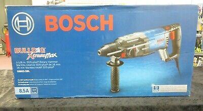 Bosch Gbh2-28l Rotary Hammer Kit 1-18 Sds Plus 8.5 Amps Bulldog Xtreme Max New