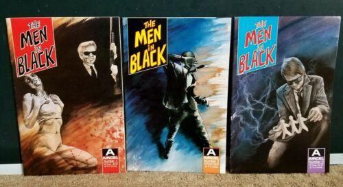 THE MEN IN BLACK SET #1,  #2  & #3 (Agent Jay, Kay & Zed)  Aircel Comics 1990