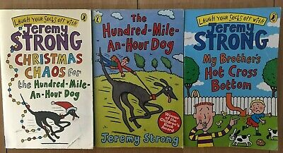 Fantasy Dog Bed - Hundred Mile An Hour Dog pb books x 2 & My Brother's Hot Cross Bottom bk