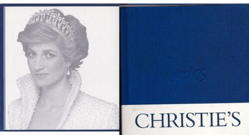 Princess Diana Elton John CHRISTIE