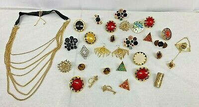 House of Harlow 1960 Jewelry Lot 30 PIC ( bracelet,27 rings......) Amazing #6689