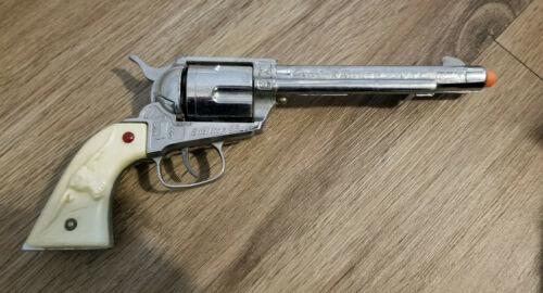 Nichols STALLION 45 Cap Gun Toy Cowboy Six Shooter - FREE SHIPPING